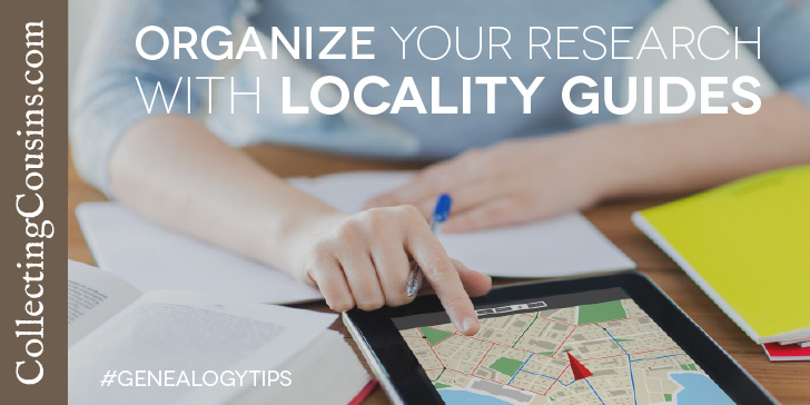 Organize your research with genealogy locality guides