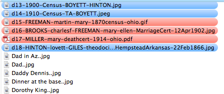 Use a file naming convention
